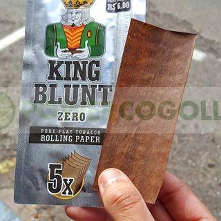 KING BLUNT WRAPS K.S. 5 HOJAS SABORES 0