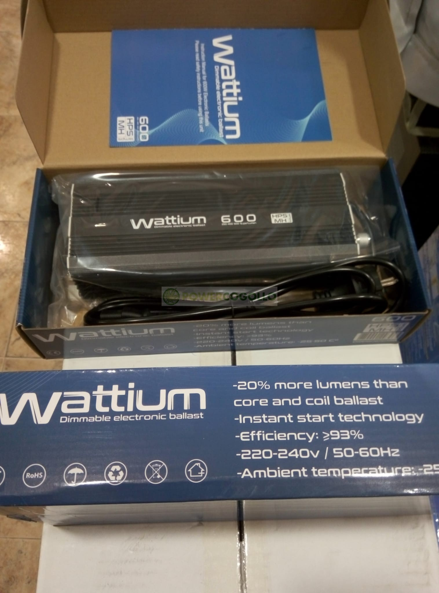 KIT 600W WATTIUM ELECTRONICO REGULABLE 2