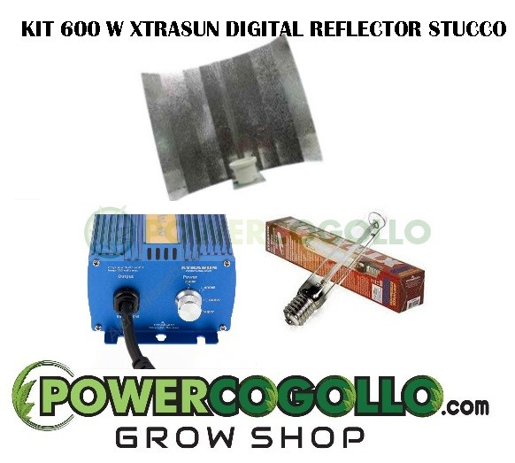 KIT-600W-XTRASUN-ELECTRONICO-REFLECTOR-STUCCO 0