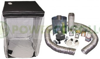 Kit Armario Cultibox Light L Completo 120x120x200cm Cultivo Cannabis Indoor-Interior 0