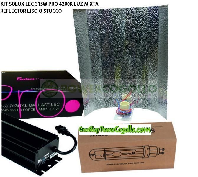 KIT SOLUX LEC 315W PRO 4200K MIXTA 0