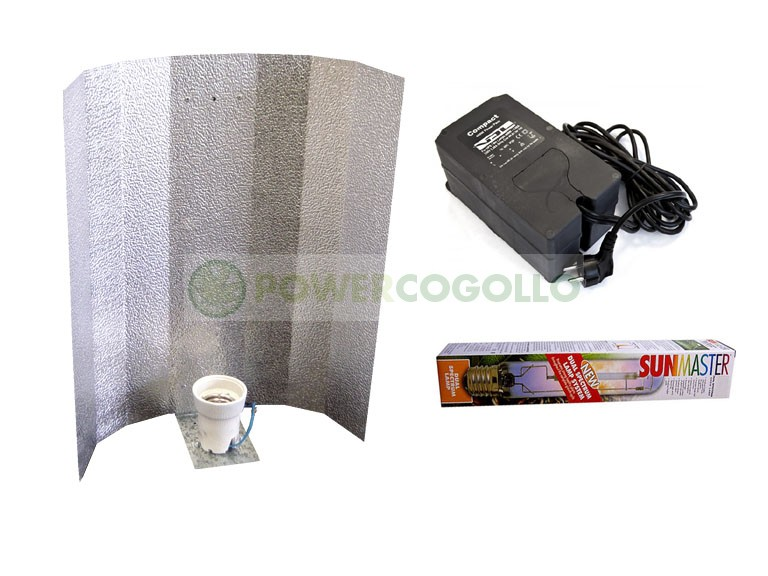 Kit 400W VDL Sunmaster Dual Lamp Equipo de iluminación para Armario de Cultivo de Cannabis interior. 0