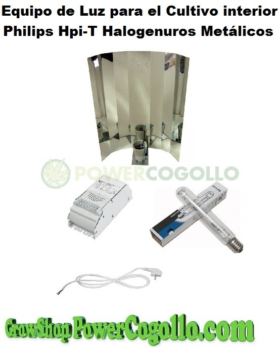 Kit 250w Philips HPI-T Plus Halogenuros Metálicos (Crecimiento) 1
