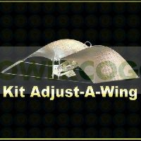 Kit 400 w Sylvania + Reflector Adjust-a-Wings Stuco  0