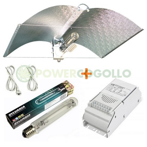 Kit 400w Sylvania + Reflector Adjust-A-Wings 1