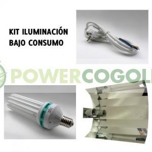 Kit CFL Bajo Consumo SOLUX Crecimiento 6500k para madres o esquejes 0