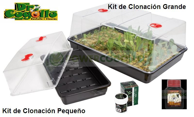 Kit de Clonación Pequeño + Invernadero 1