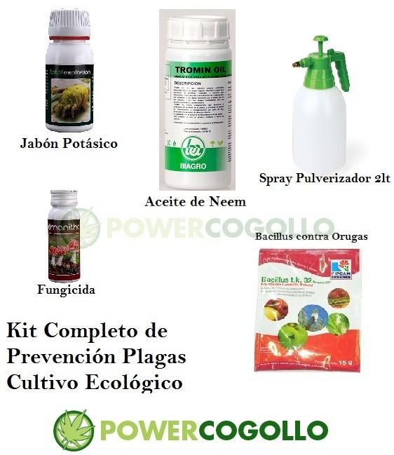 Kit Completo Prevención Plagas Cultivo Ecológico 0