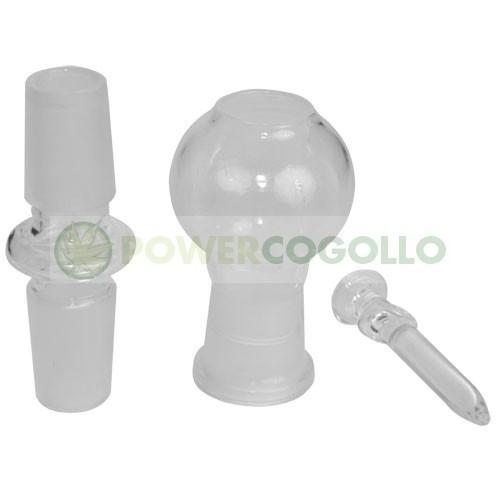 Kit Conversión BHO Recto 14mm BHO Borosilicato 0