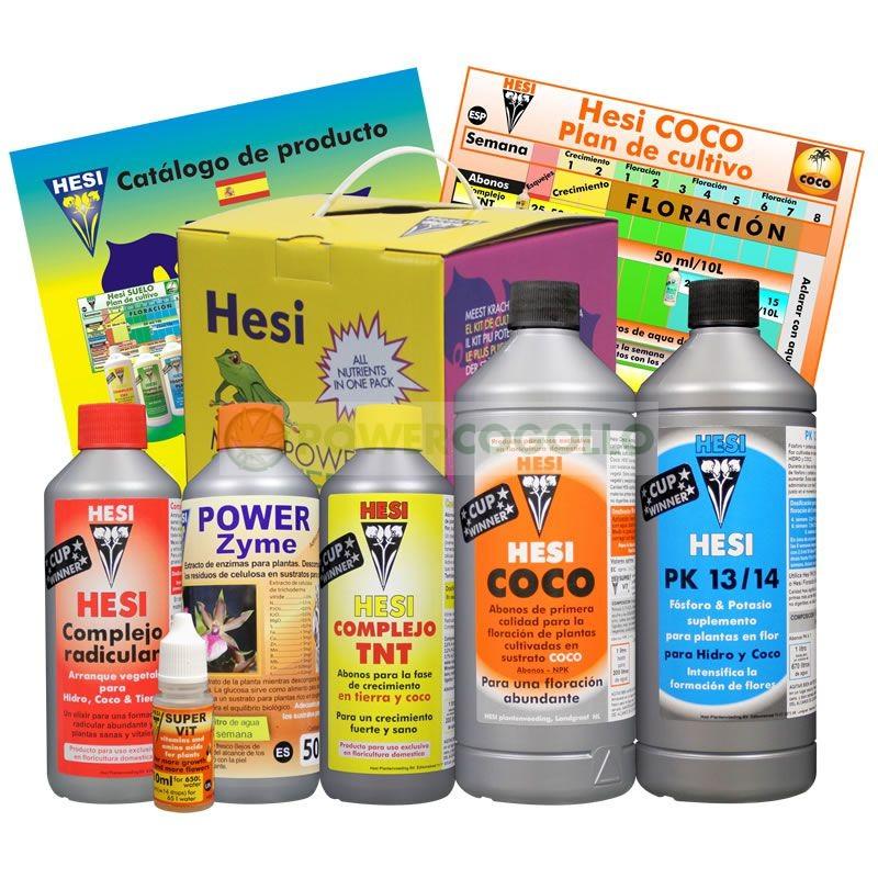 Kit de Cultivo Hesi Coco Abono para Cultivo Marihuana en Sustrato de Coco 1