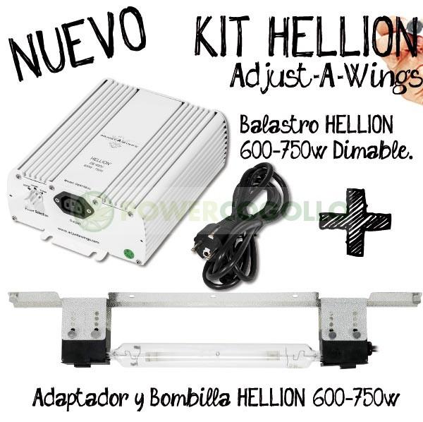 Kit Hellion Regulable Potencia 600W 750W DE 0