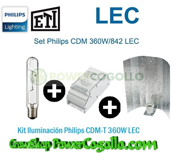 Kit Iluminación Philips CDM-T 360W LEC-REFLECTOR STUCCO 1