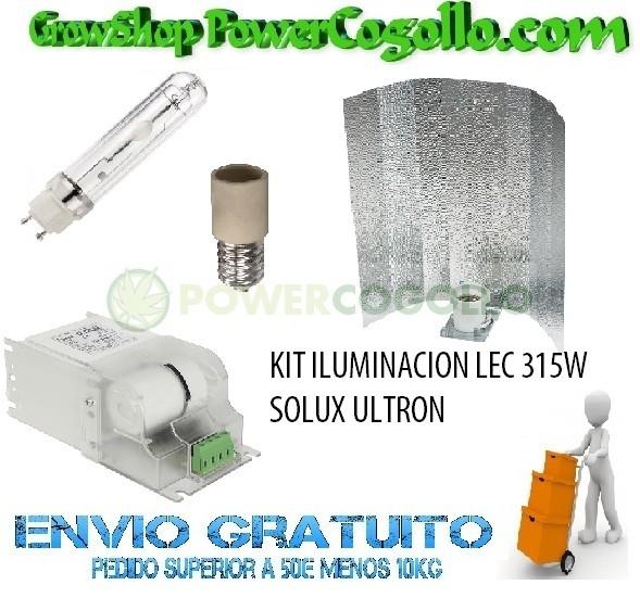 KIT ILUMINACION LEC 315W SOLUX ULTRON 4200K 2
