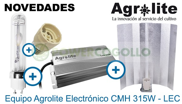 Kit LEC 315W Agrolite Electrónico 3000K  0