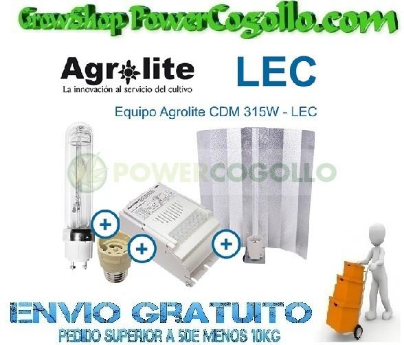 Kit LEC 315W Agrolite Magnético 3000K  0