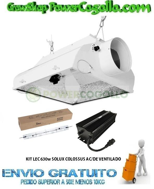 KIT LEC 630w SOLUX COLOSSUS AC/DE VENTILADO 0