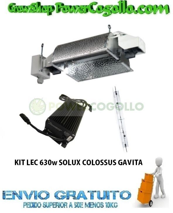 KIT LEC 630w SOLUX COLOSSUS GAVITA 0