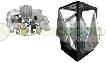 KIT ARMARIO CULTIVO INTERIOR CULTIBOX SG COMBI L 120x120x200cm 0