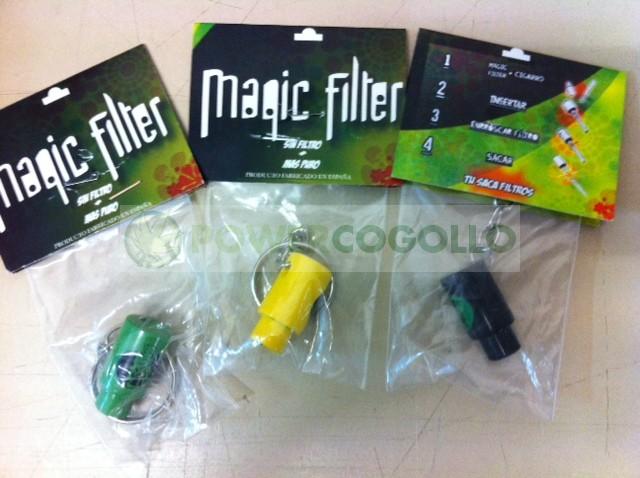 Magic Filter. Extrae el filtro del Cigarro 1