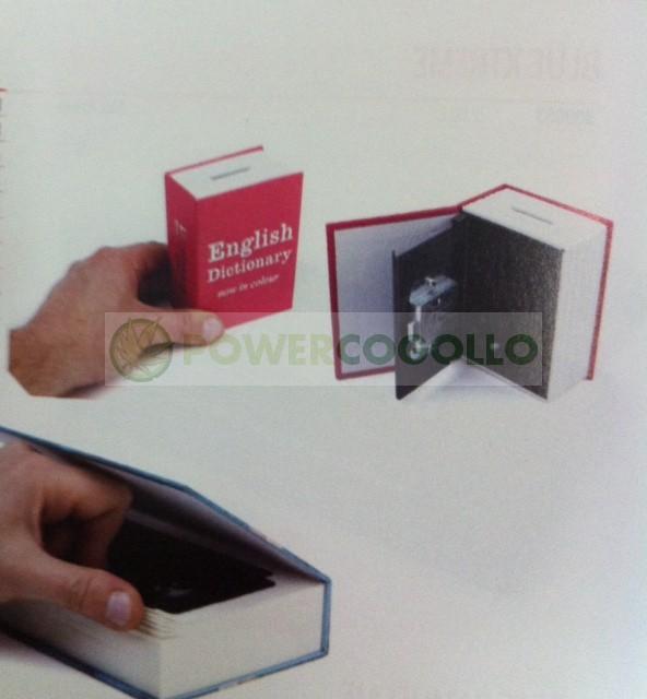 Caja Libro Plástico M para la ocultación 0