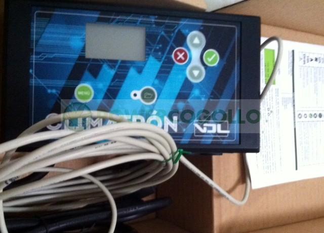 Comprar Control de Clima Digital CLIMATRON VDL para el cultivo interior Cannabis 2