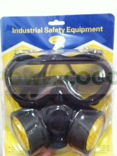 Set de Protección; Gafas + Máscara para tu cultivo 0