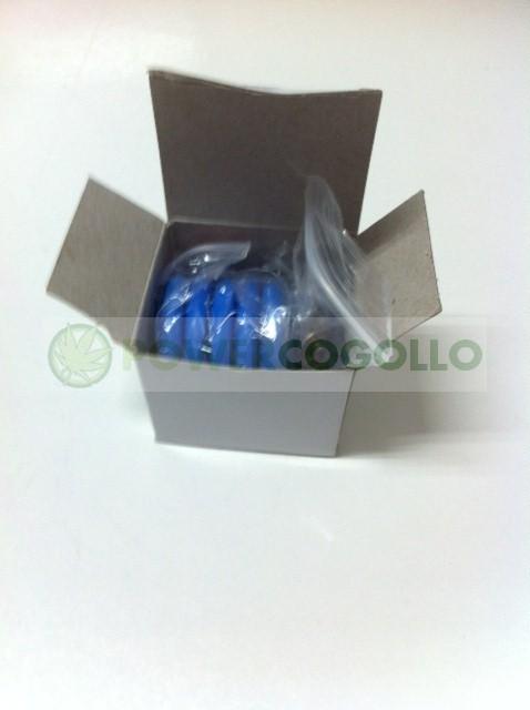 Kit para vacío en tarros 5u Secret Smoke (punzón y válvula) 1