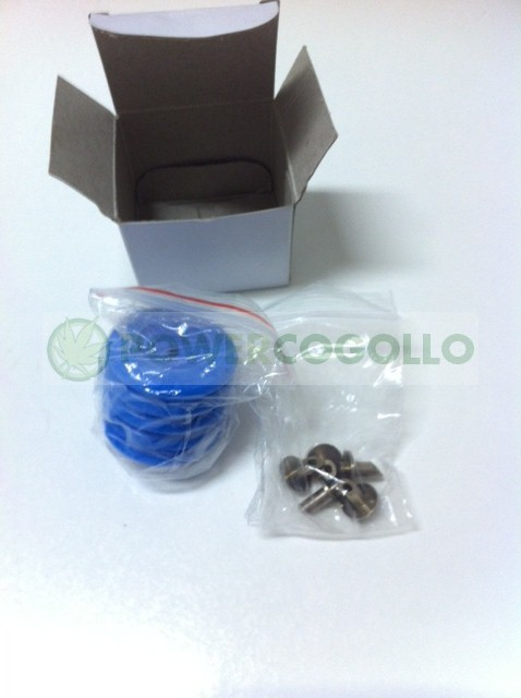Kit para vacío en tarros 5u Secret Smoke (punzón y válvula) 0