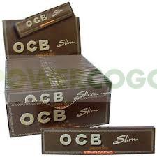 Librillo de Papel de fumar OCB Virgin No Blanqueado Marrón Natural 1