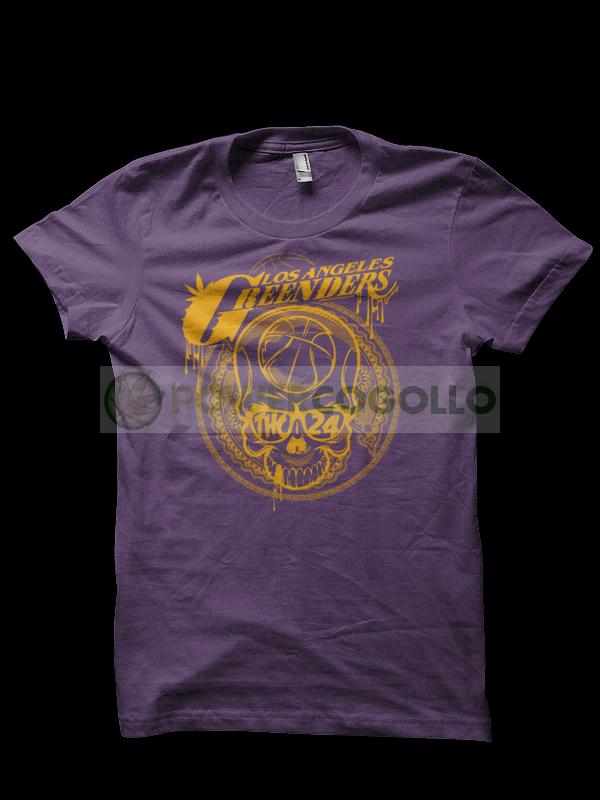 Camiseta Los Angeles Greenders - T-Shirt Marihuana  0