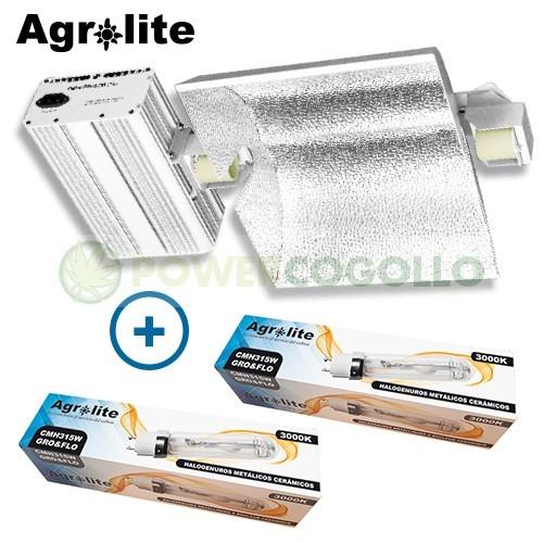 Luminaria LEC 630W (2x315W) Agrolite*-3100K 1