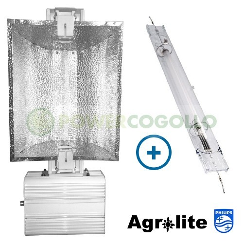 Luminaria 1000W Agrolite PRO+Philips GP 0