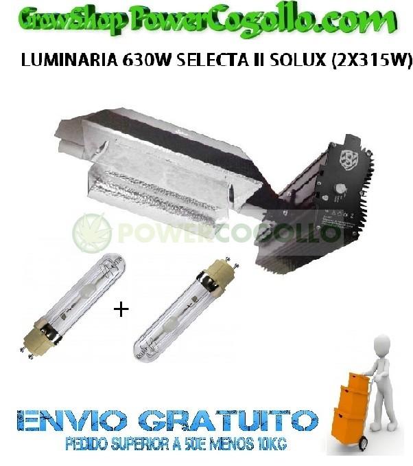 LUMINARIA 630W SELECTA II SOLUX (2X315W) 0