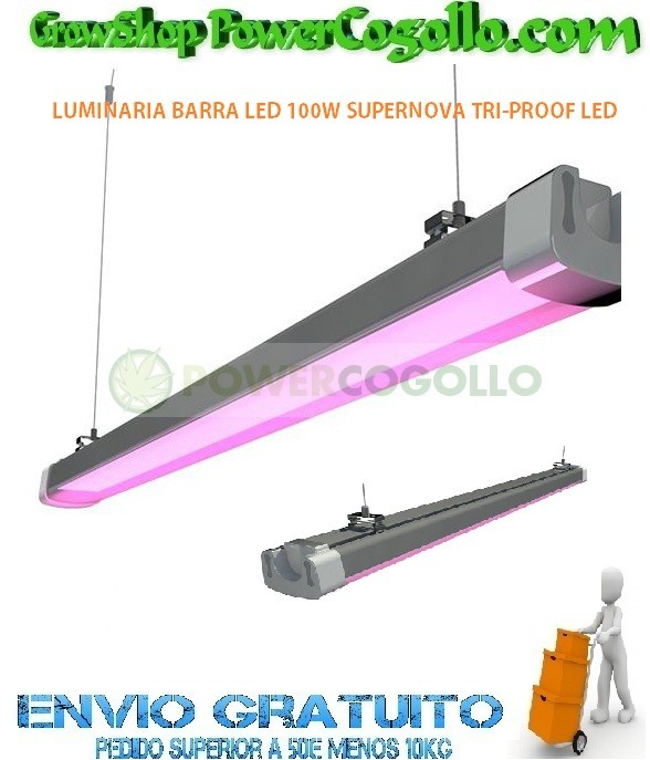 LUMINARIA BARRA LED 100W SUPERNOVA TRI-PROOF LED 0