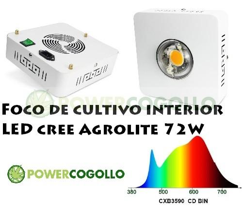 LED Agrolite 72W Led CREE 0