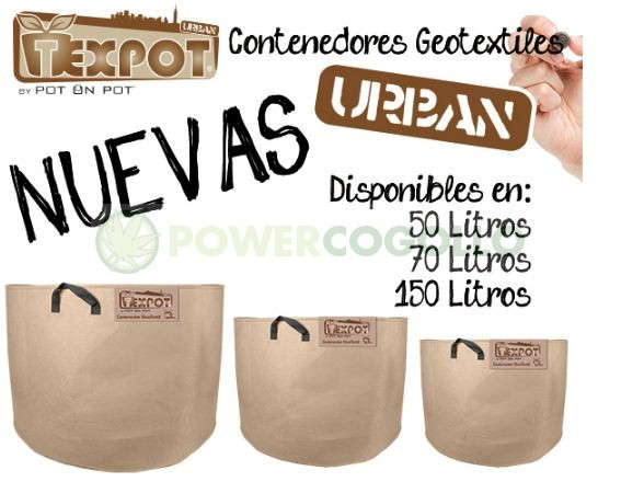 Maceta Tex Pot Urban-Color Arena-70 LITROS 2