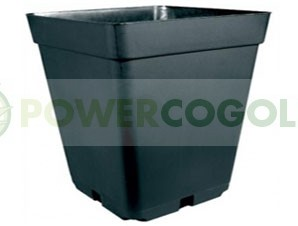 Maceta Cuadrada Negra (18 Litros) 31X31X31cm 0