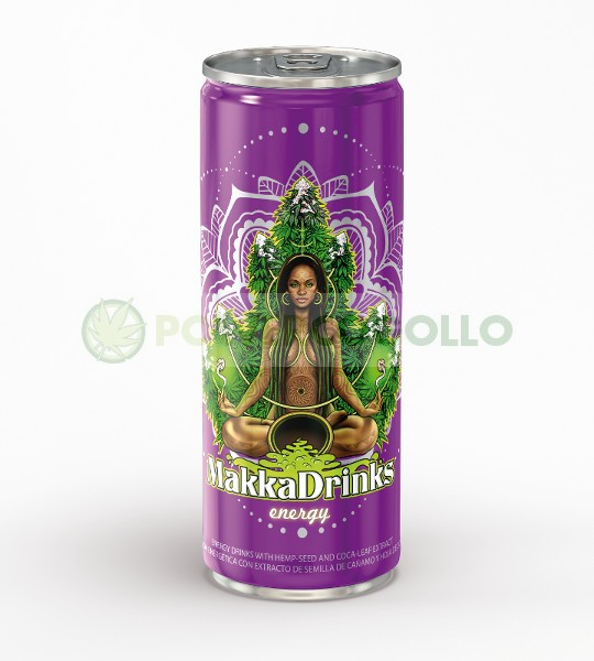 MAKKA DRINKS ENERGY BEBIDA ENERGÉTICA 250 ML 0