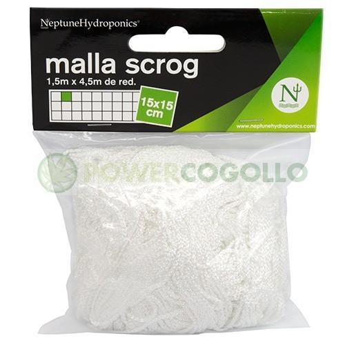 Malla Scrog Textil 1,5x4,5 m (Neptune) 0