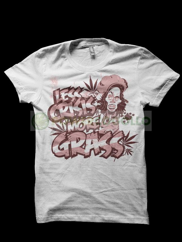Camiseta Grass Marley T-Shirt 0