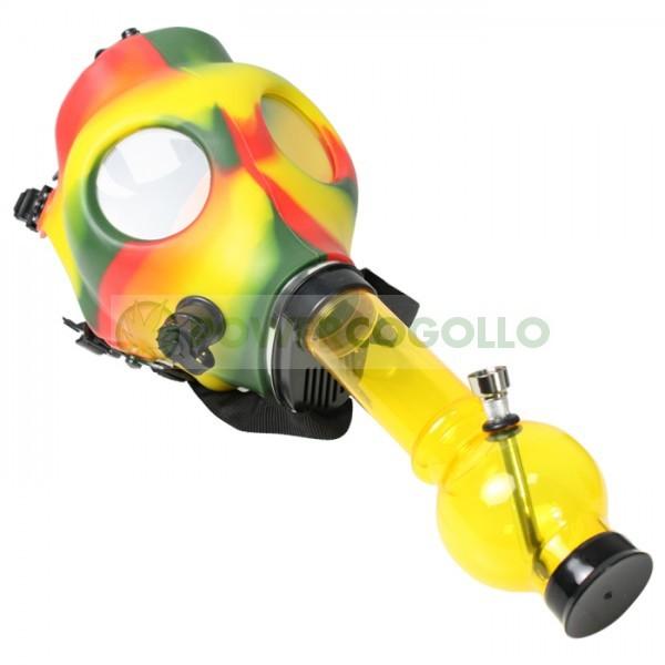 Bong Máscara de Gas Rasta 0