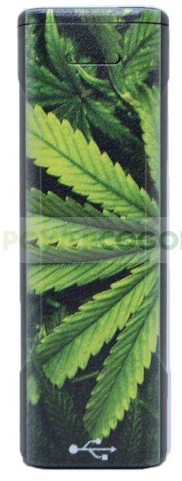 Mechero de Plasma Novi Ixnite Hoja Marihuana 4