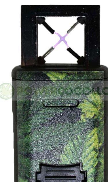 Mechero de Plasma Novi Ixnite Hoja Marihuana 5