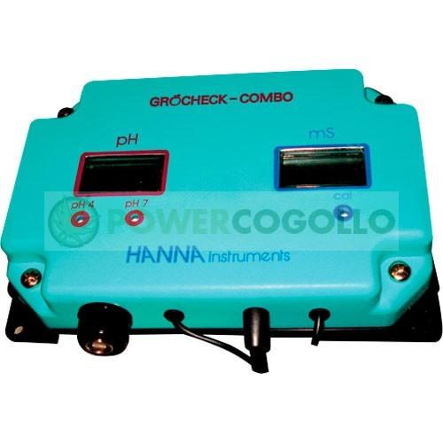 Medidor Continuo Combo (PH+EC) Grocheck (Hanna) 1