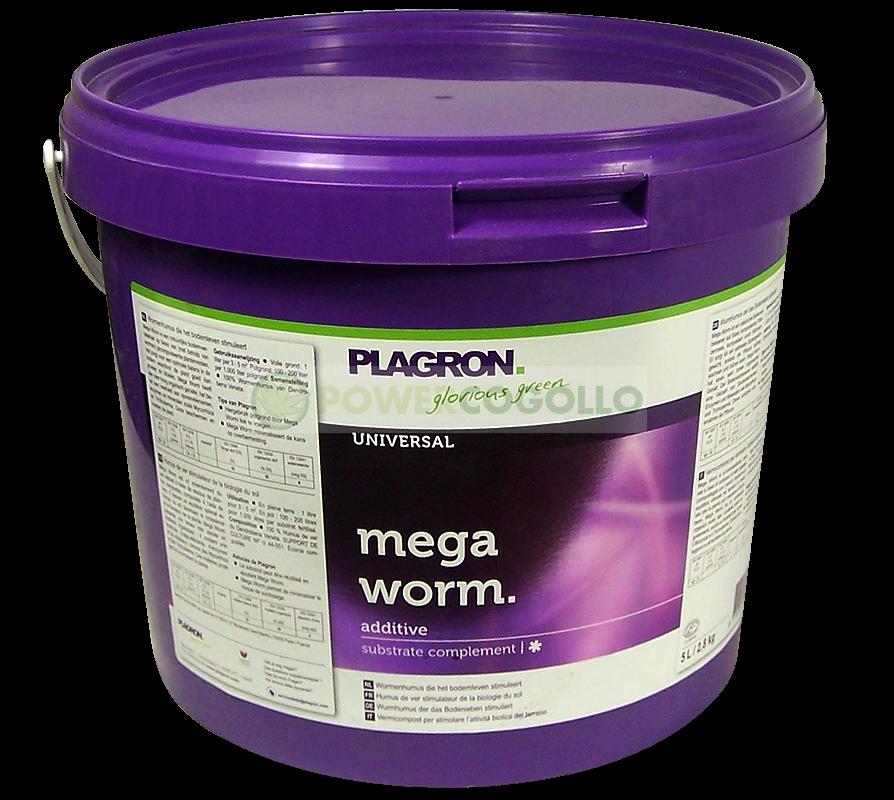 Mega Worm Plagron Humus de Lombríz Roja 0