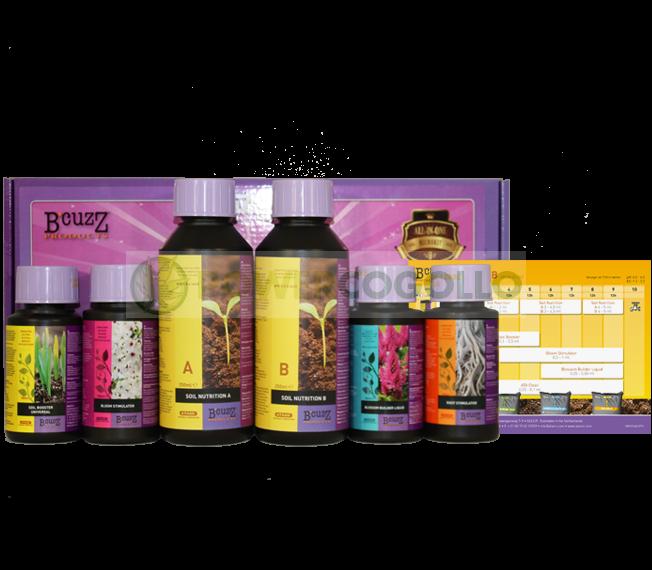 Comprar Abonos Cultivo Micro Kit Terra B' Cuzz 0