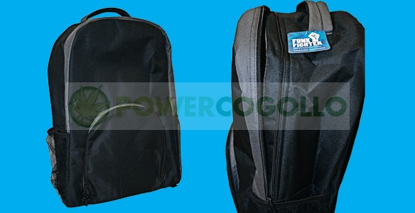Mochila Antiolor Funk Fighter Odorless Travel Bag transportar cogollos  marihuana 0