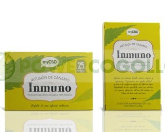 MyCBD- Té Inmuno (Infusión de Cáñamo) 1
