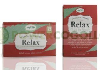 MyCBD Té Relax (25 bolsitas individuales infusión) 1