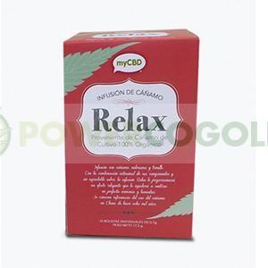 MyCBD Té Relax (25 bolsitas individuales infusión) 0